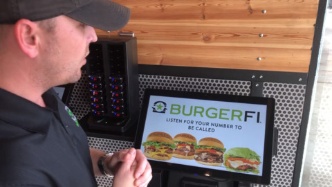 BurgerFi facial recognition kiosks in Fort Worth let you order automatically
