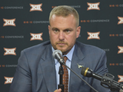 Texas coach Tom Herman talks about Gary Patterson's ability to convert recruits to different positions