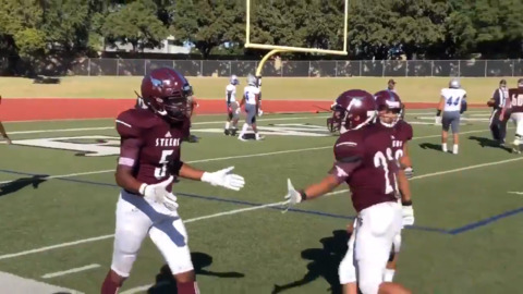 WATCH: Area's second leading WR scores on 63-yard TD