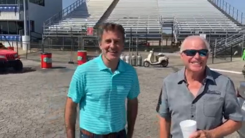 Mac Engel challenges legendary NHRA driver Billy Meyer in drag racing