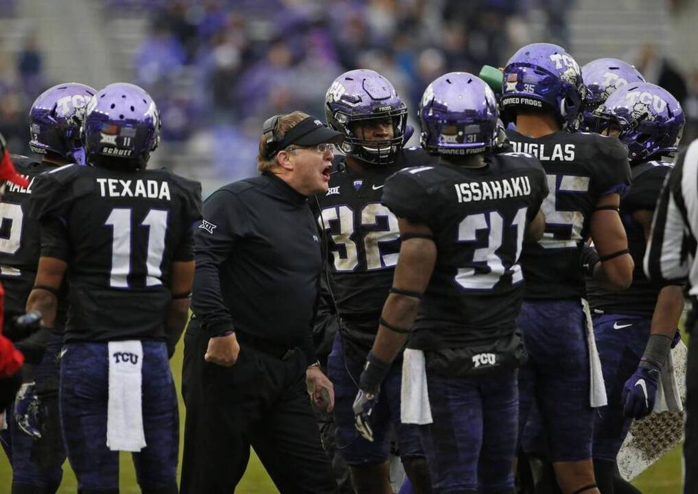 TCU eyes turnaround season to enhance coach's legacy