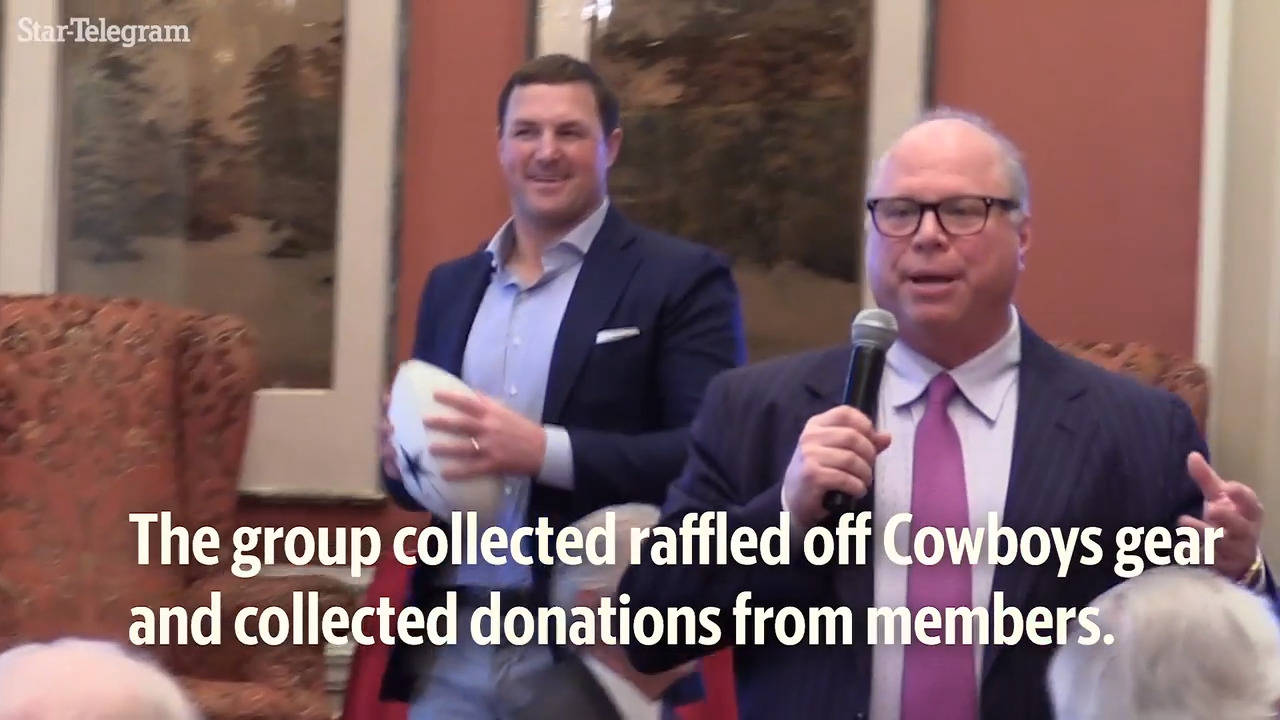 To Jason Witten, it was 'unbelieveable': Club gives record  $260,000 to Goodfellows