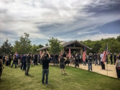 Hundreds at UNT worker's funeral, including a distant relative