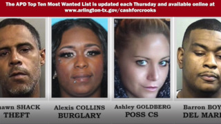 Arlington Police's 10 Most Wanted Criminals, June 20