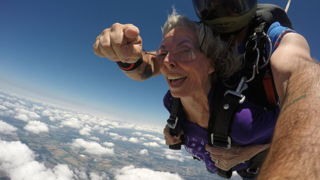 Skydiving for Alzheimer's