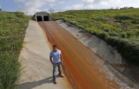 Toxic Trinity River site threatens workers