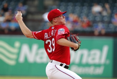 Rangers' Allard had two choices Monday. He chose wisely