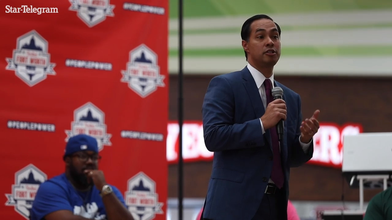 Julian Castro, maybe there's a better spot on the ballot for you than president
