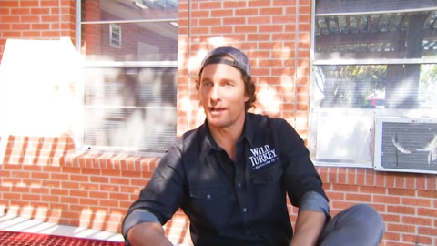 Even Matthew McConaughey waited in a long Texas early voting line