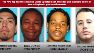 Arlington Police's 10 Most Wanted Criminals, July 17