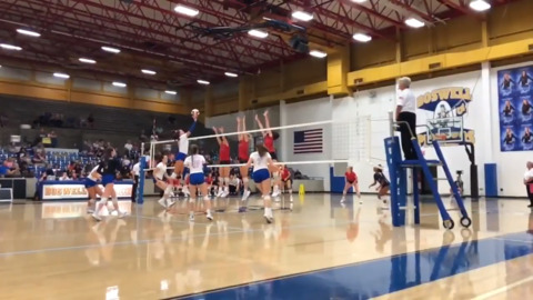 Boswell outside hitter Kaylen Beaty highlights vs. Grapevine