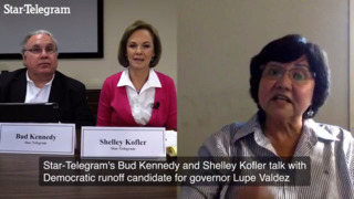Lupe Valdez on her record as Dallas sheriff and campaign for Texas governor