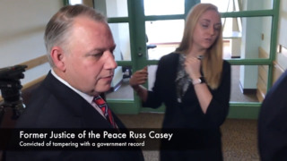 Justice of the Peace convicted of tampering with a government record