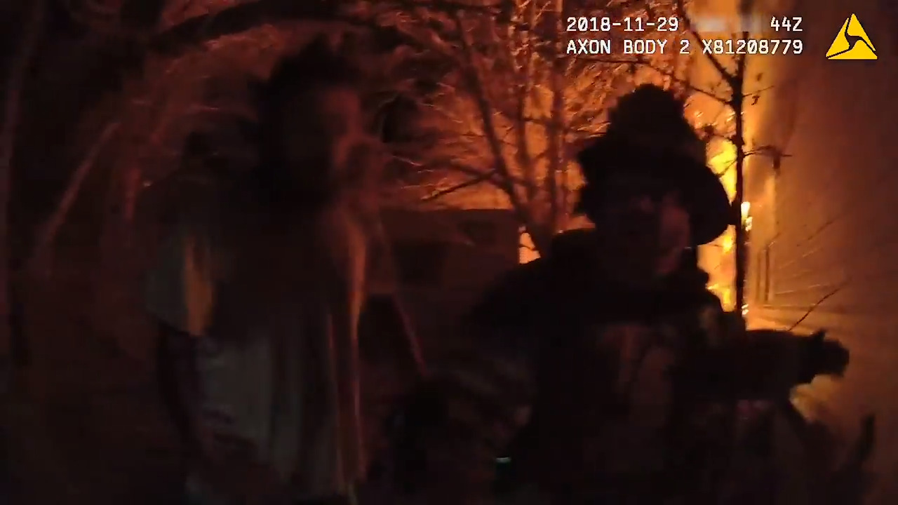 Graphic bodycam footage shows deputy rescuing family from burning Springtown house