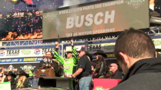 Kyle Busch Wins the 2018 O'Reilly Auto Parts 500 - Victory Lane