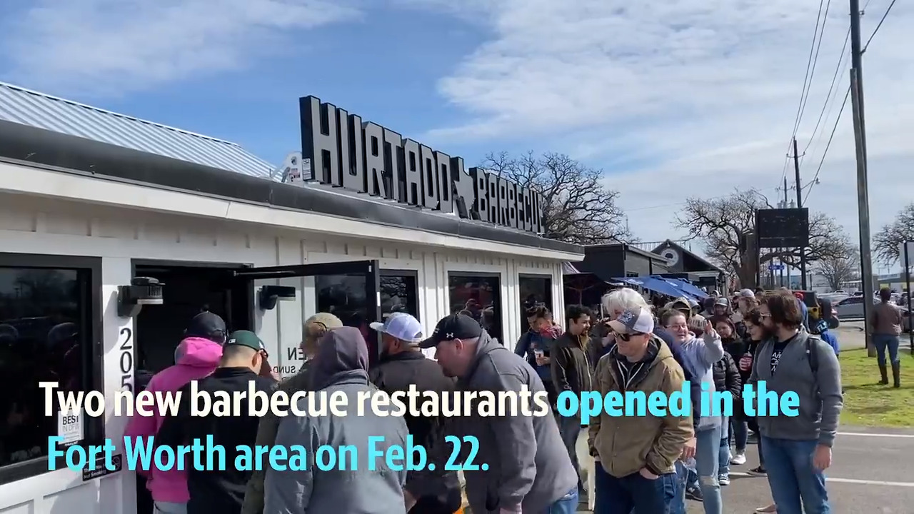 Why the 'Fort Worth barbecue scene' is gaining steam with lines in Arlington and near Kennedale