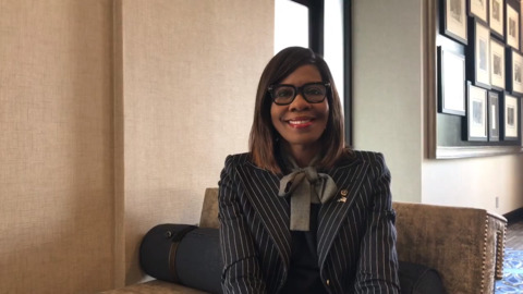 American Medical Association's first black female president speaks to Fort Worth group