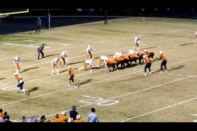 WATCH: Haltom QB Adam Hill hits a wide open Jared Beene with 12-yard TD