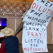 Texas Republicans sing 'The Old Rugged Cross,' pray for party unity at convention