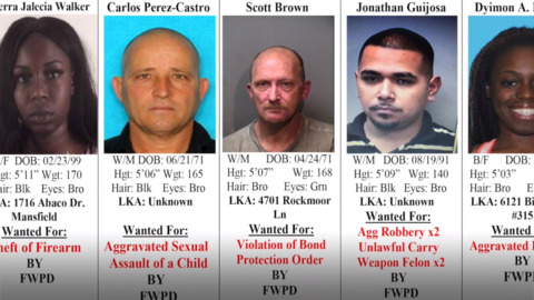 Tarrant County's 10 Most Wanted Criminals, November 28