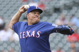 Bartolo Colon likes fastball command in 'great' but losing start Sunday for Rangers