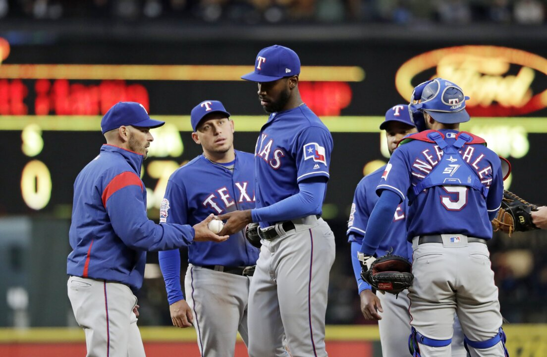 size 40 d29ba 18706 Texas Rangers: No Tommy John surgery for Taylor Hearn | Fort ...