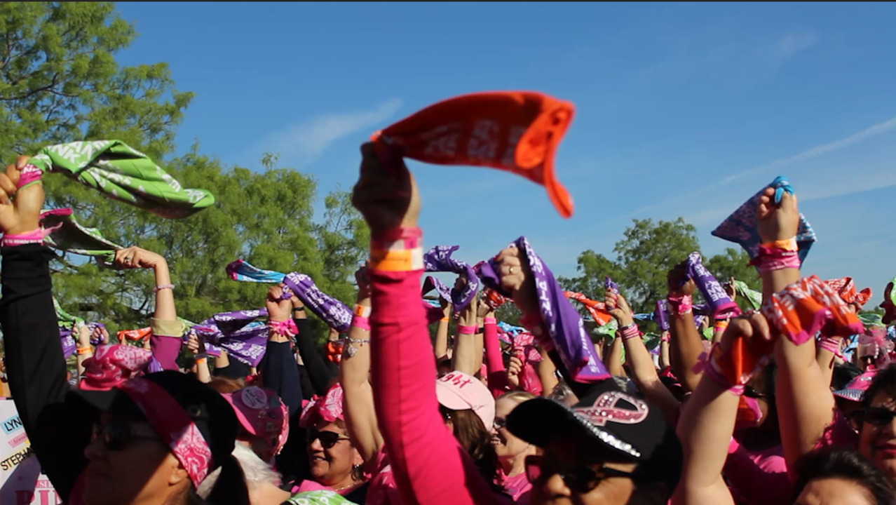 Mom shares story of 'miracle' at nation's first More Than Pink Walk – in Fort Worth