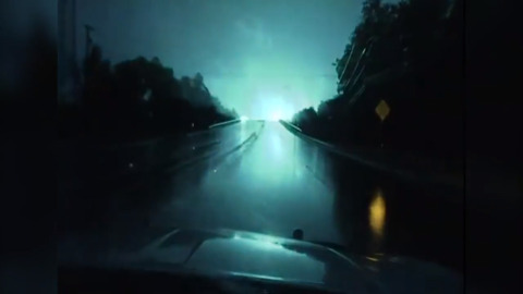 Video shows powerful power line blowouts in East Texas