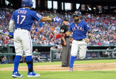 Woodward wanted Rangers to set a second-half tone Thursday. Lynn wanted to do his part