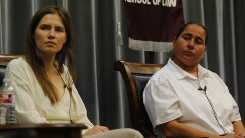 Finally free, Amanda Knox and Anna Vasquez lead fight against wrongful prosecutions