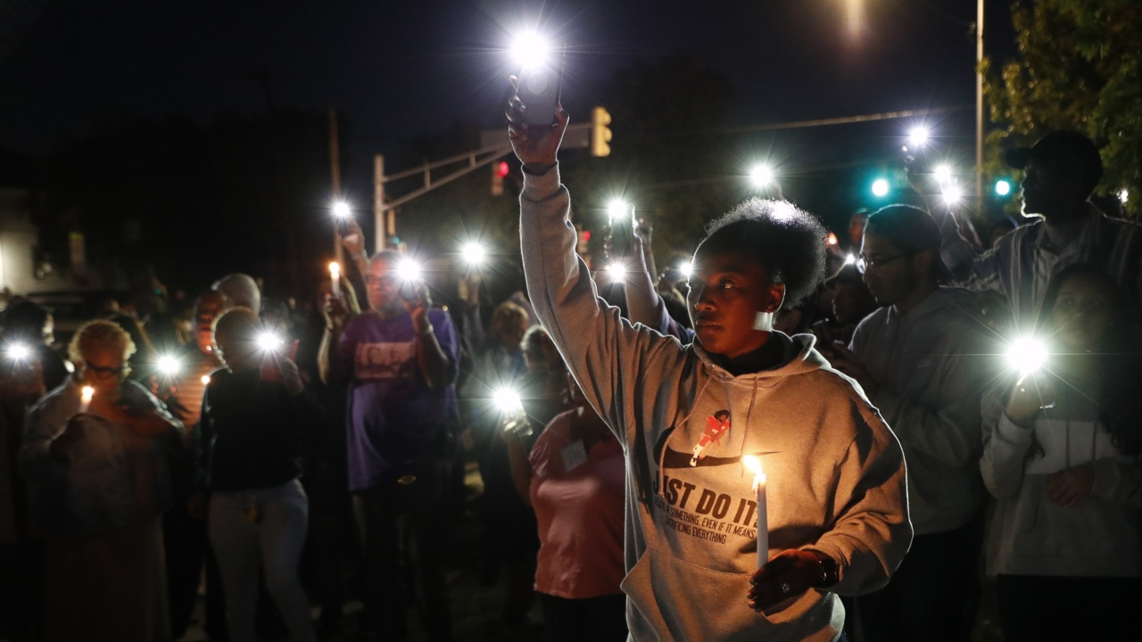 Hundreds join family to honor slain woman and protest Fort Worth police
