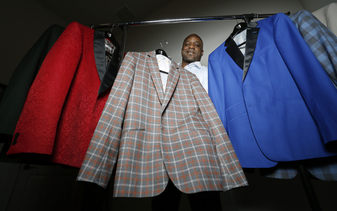 Fitting suits for some of the top prospects in the NFL Draft is tailor-made for Carlton Dixon