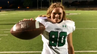 Southlake Carroll will have a female kicker for 2018