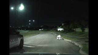 Watch Terrance Williams fall off his bike and see footage of his wrecked Lamborghini