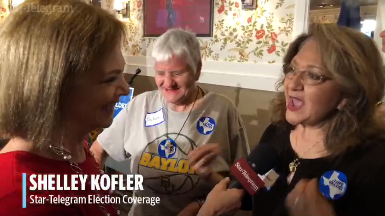 Facebook Live: Star-Telegram reports from Lupe Valdez\'s campaign ...