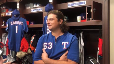 Rangers call up right-hander Ian Gibaut from Triple-A Nashville