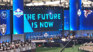 Take a sneak peek at the NFL Draft theater inside AT&T Stadium