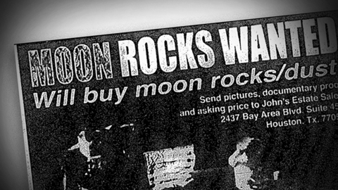 Perot gave $5M to first NASA sting operation to recover a moon rock. That's not the whole story.