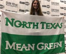 Weatherford's Reagan Hubbard signs with UNT
