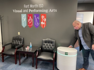 Fort Worth school receives filtration systems designed to kill COVID