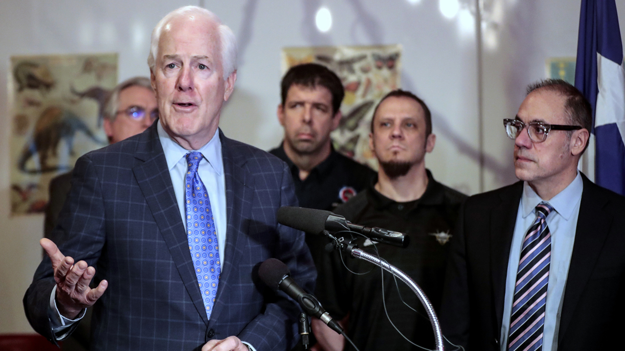 Trump Jr. names Cornyn Trump's 'biggest ally.' Does that help the senator?