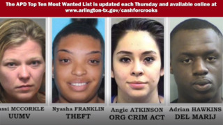 Arlington Police's 10 Most Wanted Criminals, June 13