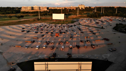 Drive-in movie theater provides escape during coronavirus social distancing