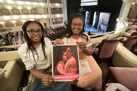 Students attend Fort Worth Opera dress rehearsal of