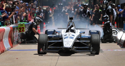 Indy cars take over downtown Fort Worth for pit stop challenge