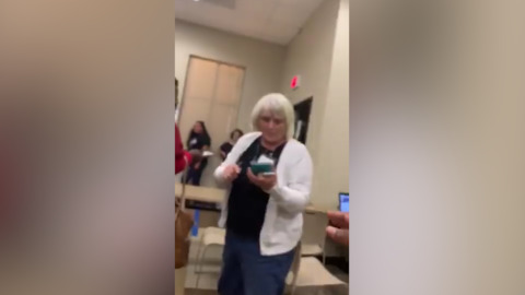 Texas election official filmed yelling at voter resigns