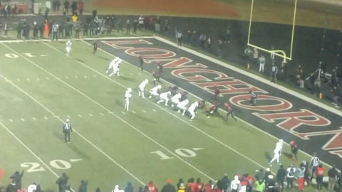 WATCH: Cedar Hill holds off DeSoto's game-winning 2-point try on final play