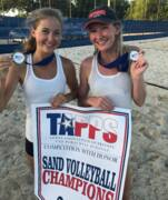 Beach volleyball stars from Grace Prep