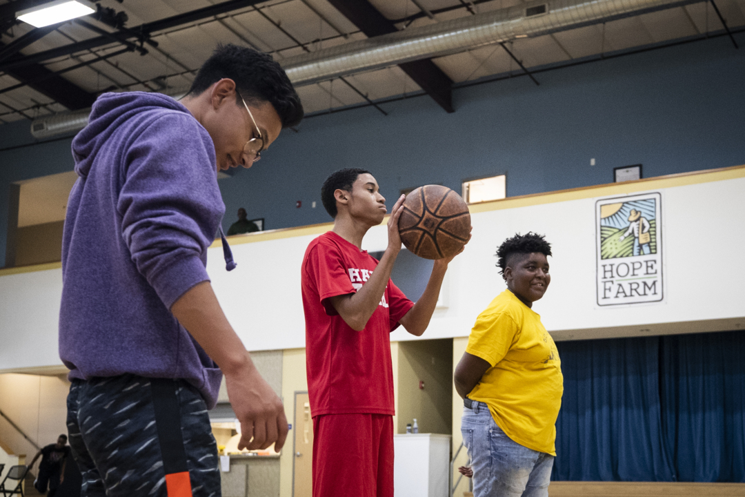 In this neighborhood, how fatherless young men find a 'ray of sunshine' at Hope Farm