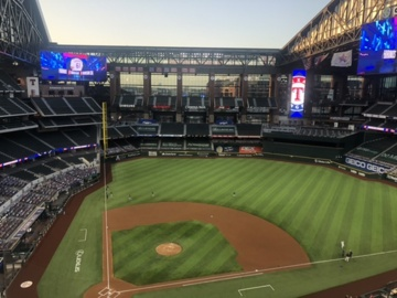 Watch the roof open at Globe Life Field